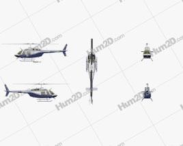 Bell 206 Clipart