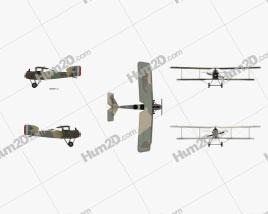 Breguet 14 Aircraft clipart