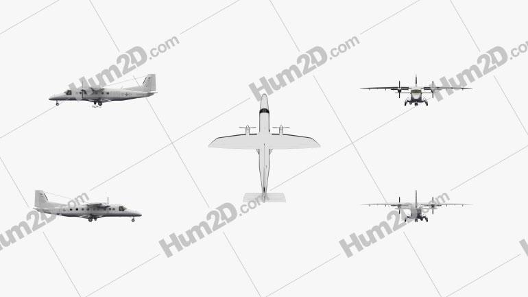 Dornier Do 228 Aircraft clipart