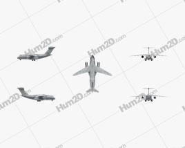 Embraer KC-390 Aircraft clipart