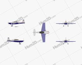 Extra 300L Aircraft clipart