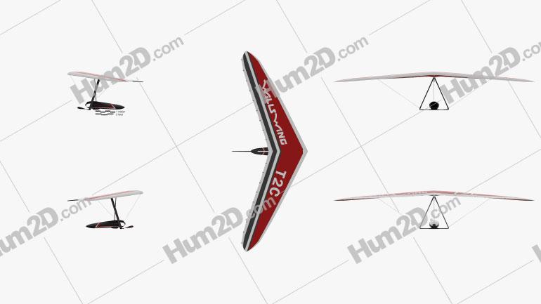 Hang glider Wills Wing T2C
