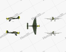 Junkers Ju 87 Stuka Aircraft clipart