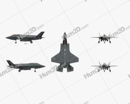 Lockheed Martin F-35 Lightning II Aircraft clipart