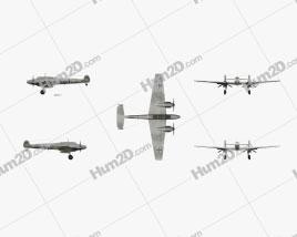 Messerschmitt Bf 110 Aircraft clipart