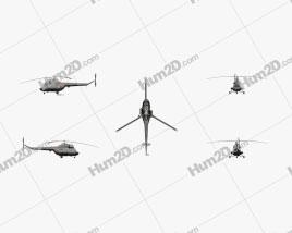 Mil Mi-24 Clipart
