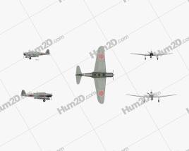 Nakajima B5N Aircraft clipart