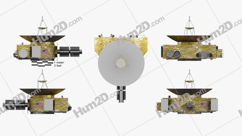 New Horizons Aircraft clipart