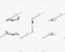 North American F-86 Sabre White Aircraft clipart