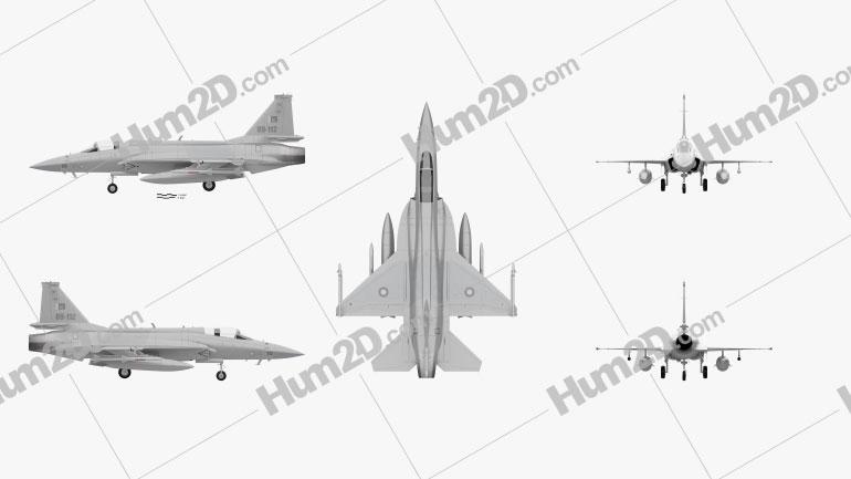 PAC JF-17 Thunder Aircraft clipart