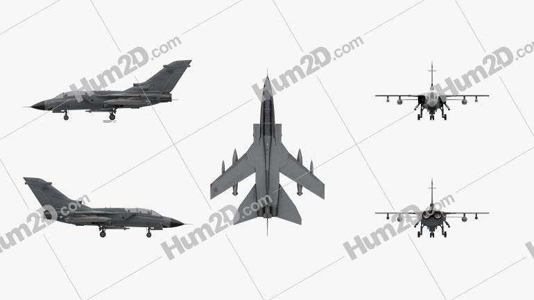 Panavia Tornado Flugzeug clipart