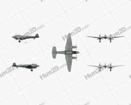 Petlyakov Pe-2 Aircraft clipart