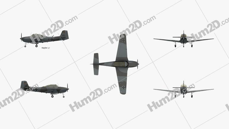Piaggio P.149 Aircraft clipart
