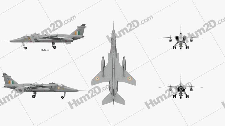 SEPECAT Jaguar Aircraft clipart