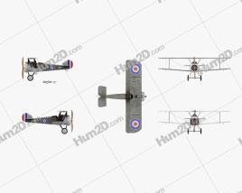 Sopwith Camel Aircraft clipart