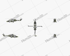Westland Lynx AH 9 Clipart