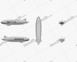 Zeppelin NT Aircraft clipart