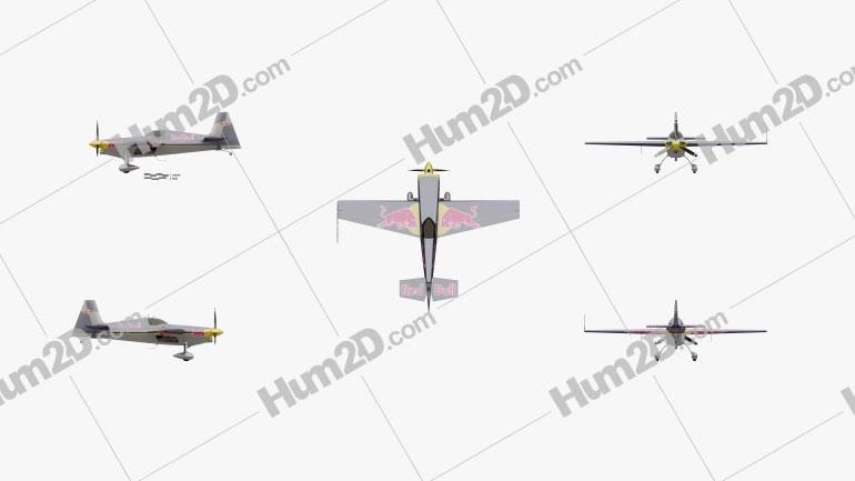 Zivko Edge 540 Aircraft clipart