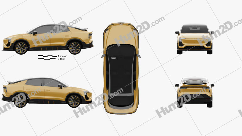 Aiways U6ion Prototype 2020 Clipart Image