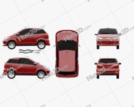 Aixam Coupe Premium 2014 car clipart