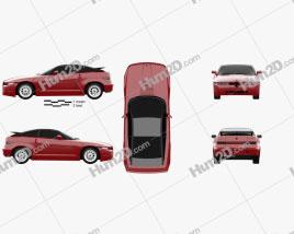 Alfa Romeo SZ 1989 Clipart