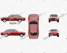 Alfa Romeo GTAm 1969 Clipart