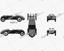 Alvis Speed 20 SB Sport 1934