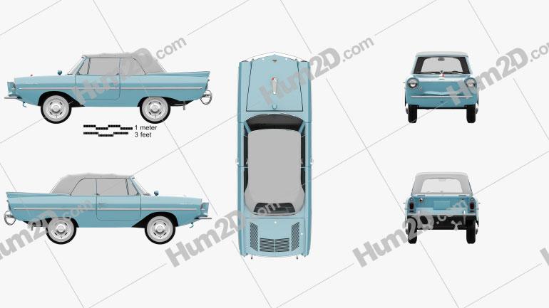 Amphicar 770 convertible 1961