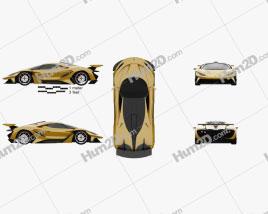 Apollo Arrow 2016 car clipart