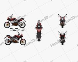 Aprilia Mana 850 GT 2014 Motorcycle clipart