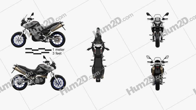 Aprilia Pegaso 650 Strada 2006 Motorcycle clipart