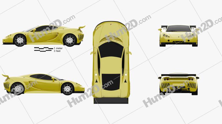 Ascari A10 2006 Clipart