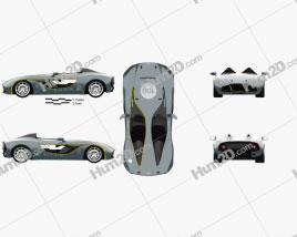 Aston Martin CC100 Speedster 2013 car clipart