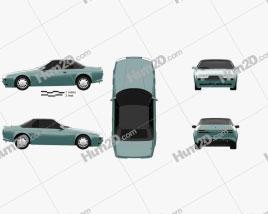 Aston Martin V8 Zagato Volante 1987