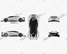 Aston Martin DP-100 Vision Gran Turismo 2014 Clipart