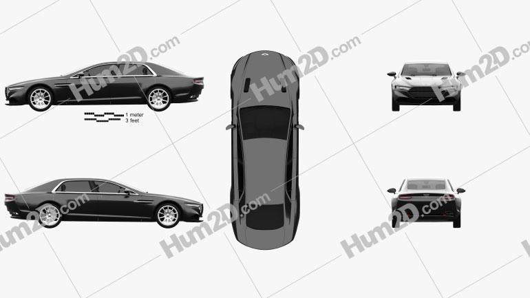 Aston Martin Lagonda 2014