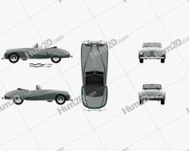 Aston Martin DB1 1948
