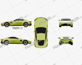 Aston Martin Vantage coupe 2018
