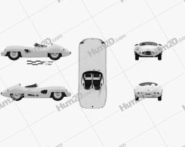 Aston Martin DBR1 LeMans 1959