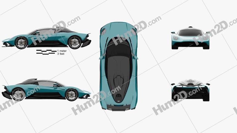 Aston Martin Valhalla 2022 Clipart Image