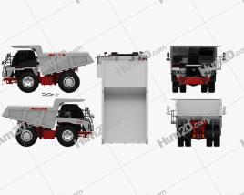 Astra RD40 Dump Truck 2011 clipart