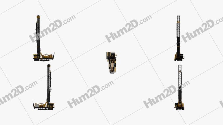 Atlas-Copco PV-271 Drill Rig 2017