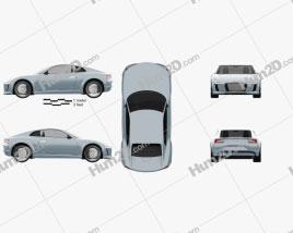 Audi e-tron 2010