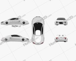 Audi RSQ 2004 car clipart