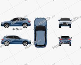 Audi SQ5 2013 Clipart