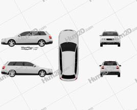 Audi A4 (B6) avant 2002