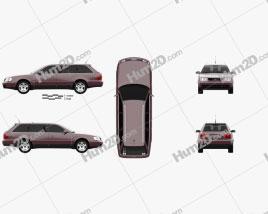 Audi A6 (C4) avant 1994