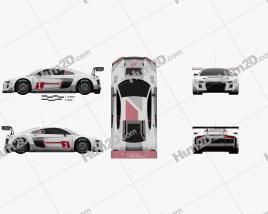 Audi R8 LMS 2016 Clipart