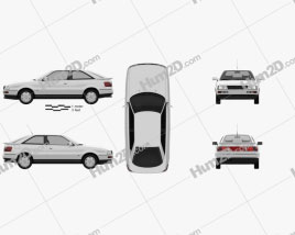 Audi Coupe (8B) 1988