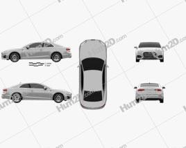 Audi A5 Coupe 2016